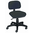 Jemini Gas-Lift Typist Chair Charcoal