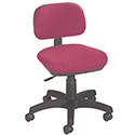 Jemini Gas-Lift Typist Chair Claret