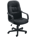 Jemini High Back Managers Chair Charcoal
