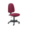 Jemini High Back Operators Chair Claret