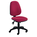 Jemini High Back Tilt Operators Chair Claret