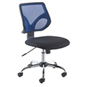Jemini Medium Mesh Back Task Chair Blue KF73603