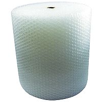 Jiffy Large Cell Clear Bubble Wrap Film Roll 750mm x 45m