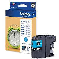 Brother LC-125XLC Cyan High Yield Inkjet Cartridge LC125XLC