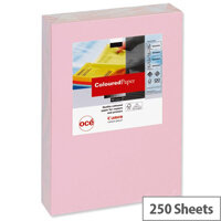 Canon Light Pink A4 Card Paper Multifunctional 160gsm Pack of 250 Sheets