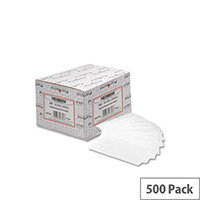 Postmaster DL White Gummed Envelopes Wallet Pack 500