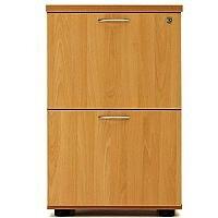 Desk High 2 Drawer Filing Cabinet (600 Deep) Beech  sc 1 st  Hunt Office UK & Wooden Filing Cabinets - HuntOffice.co.uk the UK