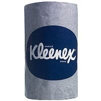 Kleenex Toilet Paper Bulk Pack Dispenser Tissue Refills 2-Ply 260 Sheets White Pack of 27 4477