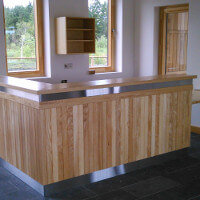 Lough Boora - Discovery Park in County Offaly - New Reception Desk by HuntOffice Interiors