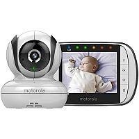 """Motorola MBP36S Digital Video Baby Monitor 3.5"""" LCD Display"""