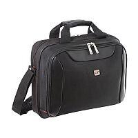 Gino Ferrari Black Helios Laptop Business Bag 16in GF542