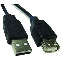 1.8m Male to Female USB Extension Cable MFUSB18M