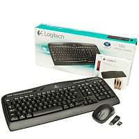 Logitech MK330 Wireless Combo Keyboard and Mouse Set