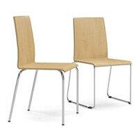Narbutas MOON WOOD Visitors & Meeting Room Chairs