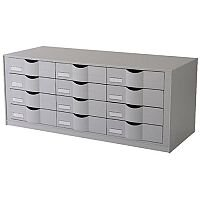 Paperflow Easy Office Stackable Drawer Module Grey 9H444L2.02