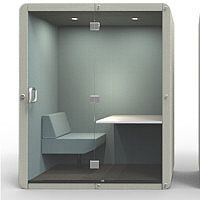 Penelope Acoustic Workbooth with Seat