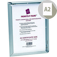 Photo Album Company Promote It Aluminium Frame A2 PAPFA2B