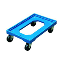 Plastic Dolly Blue 250kg Capacity Ref 369320