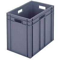 Plastic Stacking Container Grey 307377