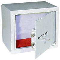 Q-Connect Key-Operated Safe 10 Litre Cream 200x310x200
