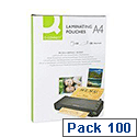 Q-Connect Laminating Pouch A4 200 microns Pack of 100