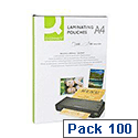 Q-Connect Laminating Pouch A4 160 microns Pack of 100