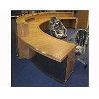 Circular Wooden Reception Unit RD96