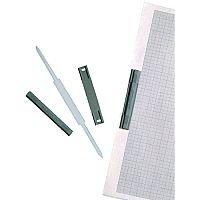 Rotadex Safe Clip 8cm Plastic Pack of 50 63636
