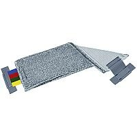 Vileda Ultra-Speed Safe Mop Pad Grey with Assorted Tags