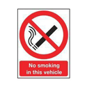 Safety Sign 210x148mm No Smoking PVC Pack of 1 SR72079