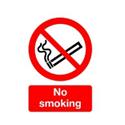 No Smoking Self-Adhesive Sign A5
