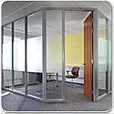 SAS SYSTEM 7000 Single Glazed Acoustic & Fire Rated Office Partitioning System