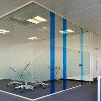 SAS SYSTEM 8000i Single Glazed Frameless Partitioning System