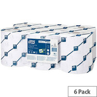 Tork Hand Paper Towel Rolls 2 Ply (6 Rolls) 589229