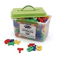 Show-Me Tub Of 286 Magnetic Uppercase Letters  Mluc