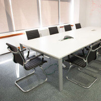 Sidetrade Office Boardroom - Meeting Room Fitout By Huntoffice Interiors