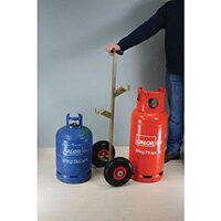 Butane Propane Cylinder Trolley For 15Kg Butane And 13Kg 19Kg Propane Cylinders Puncture Proof