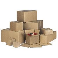 Single Wall Carton 203x203x203mm Pack of 20