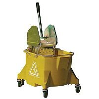 Colour Coded Mop Wringer Heavy Duty Yellow