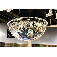 Half Hemispherical Mirror Dia 500mm Up to 3 Viewing Distance