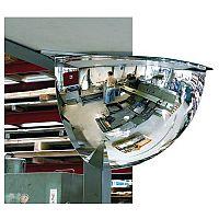Quarter Hemispherical Mirror Dia 500mm Up to 3 Viewing Distance