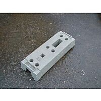 Panel Fencing Concrete Foot