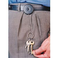 Self-Retracting Keyreel Standard Model With Belt Loop Pack of 6