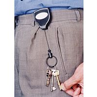 Self-Retracting KeyReel Super 48 Model Pack of 6