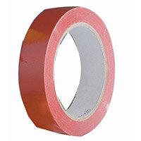 Vinyl Tape Regular Pack 48mm Red Pack of 6