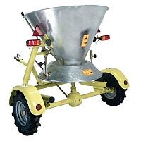 Pin Hitch Towing Large Area Salt Spreader 250Kg Capacity