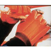 Winter Hi-Visibility Waterproof Gloves Size 10 Orange