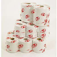 Andarta Premium Jumbo Dispenser Toilet Tissue White Rolls Length 410m Refill 2 Ply Pack 6