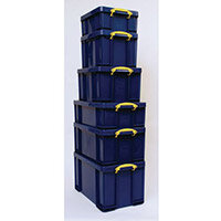 Really Useful Box 35Litre Capacity Solid Blue