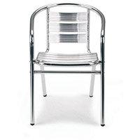 Aluminium Bistro Armchair